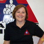 Chris Plumer, Instructor and Office Manager for Plumer Karate America, Lodi, WI