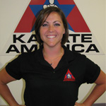Katie Plumer, Chief Instructor for Plumer Karate America in Prairie du Sac, WI