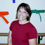 Becky Pederson is co-owner and office manager for Plumer Karate America in Waunakee, WI